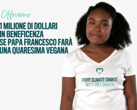 "Fonte foto: pagina FB ""Million Dollar Vegan Italia"""