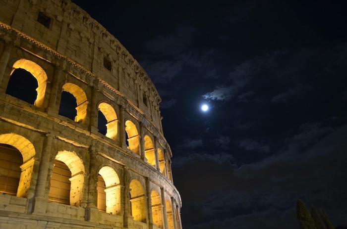 superluna primavera roma