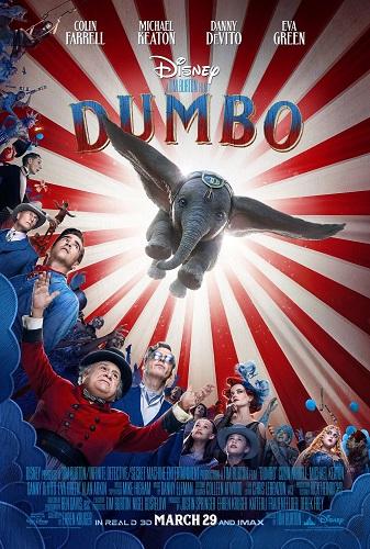 DumboBurtonPoster