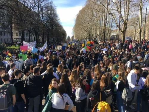 Greta Thunberg, il Dei data For Future a Torino