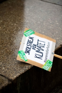 Protesta studenti contro cambiamento climatico