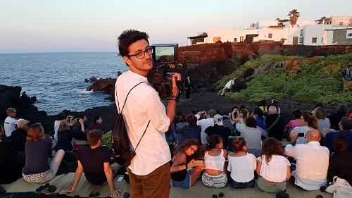 """Elis Karakaci, uno dei registi di """"Stromboli"""""""