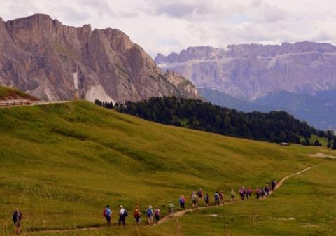 dolomiti, trekking, camminare