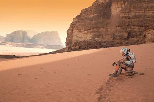 Sopravvissuto - The Martian, di Ridely Scott (USA 2015, 141')