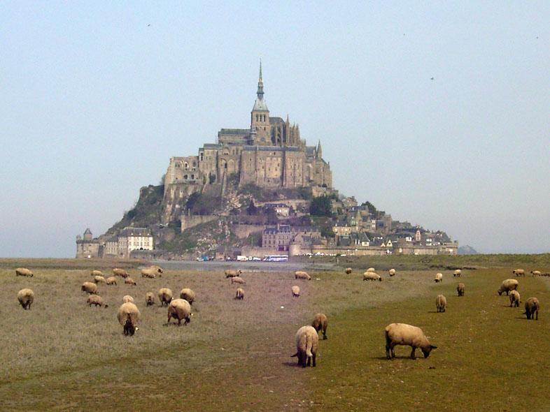 Break primaverile a Mont Saint Michel