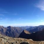 Panorama montano - suoli di montagna minacciati dal global warming