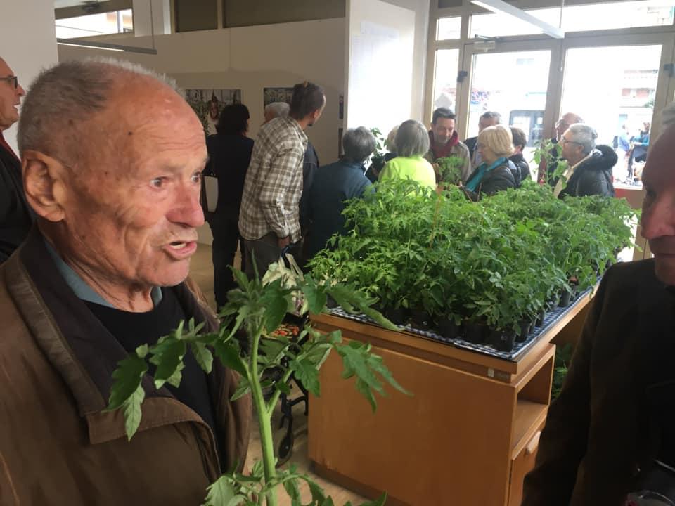 Un momento dell'inaugurazione della Casa dell'Agrobiodiversità di Scandicci (Fi)