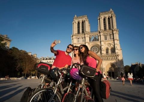 """Fonte foto: pagina FB """"La Véloscénie: Paris/Le Mont Saint Michel"""""""