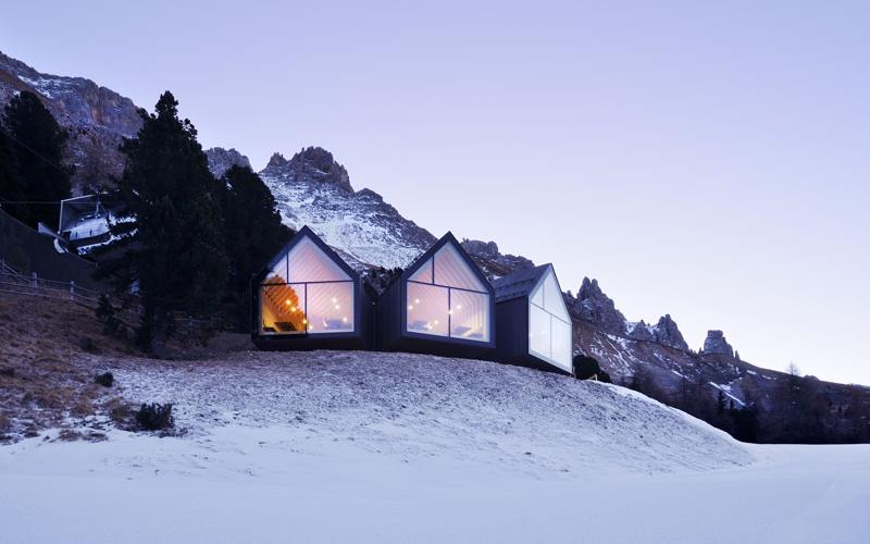 Rifugio sulle Dolomiti Italiane