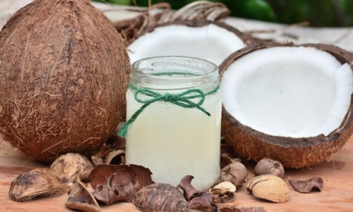 Olio di cocco:
