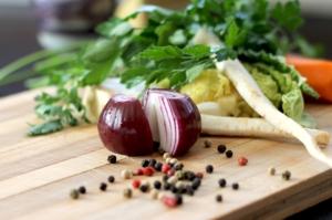 cipolla extravergine di oliva soffritto salutare per la salute benessere