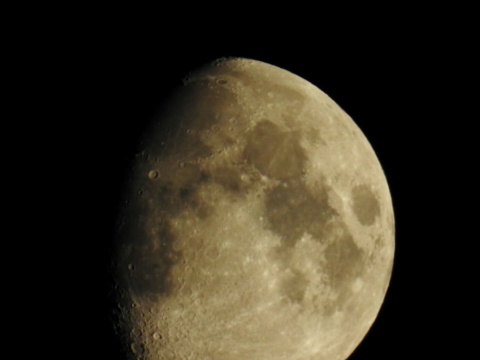 A luglio la Luna protagonista. Foto di Barbara Pignataro