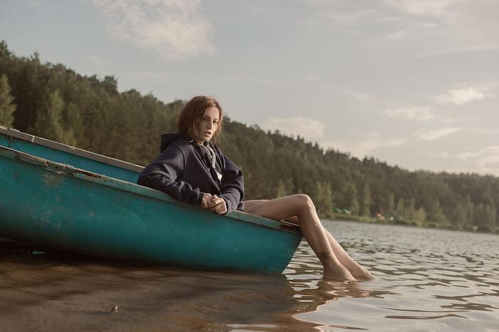 barca con ragazza