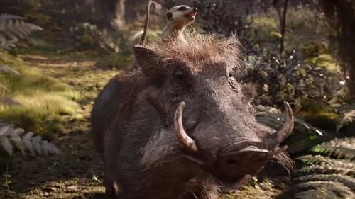 -Il Re Leone-Timon e Pumbaa-