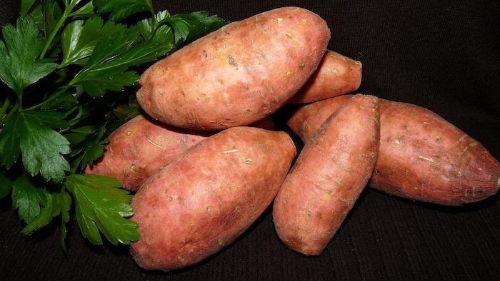 frutta e patate dolci patate dolci