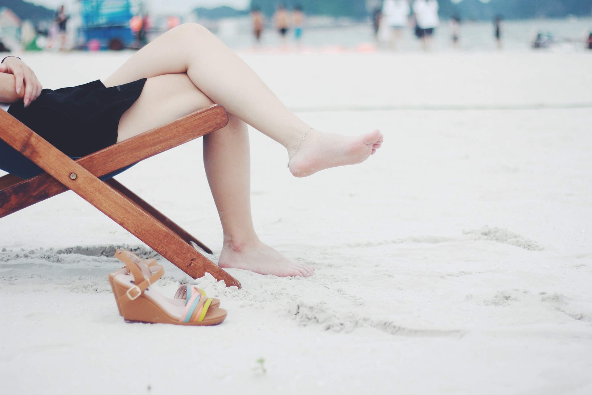 gambe gonfie estate alimentazione circolazione