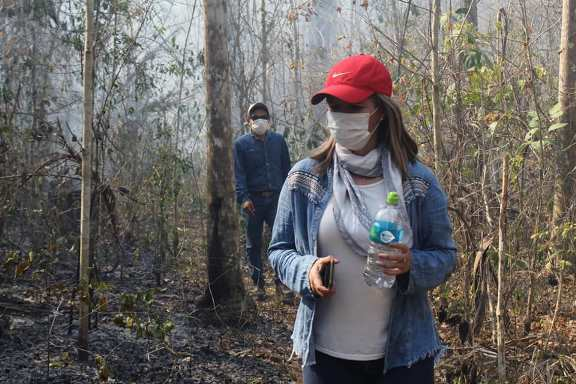 Sono 1,8 milioni gli ettari di foresta amazzonica boliviana interessati dai roghi dell'ultimo mese