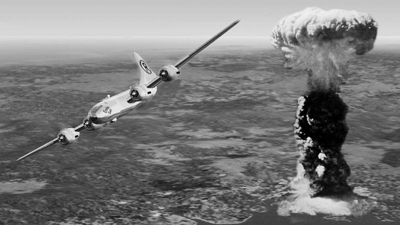 Bomba sganciata a Hiroshima il 6 Agosto 1945