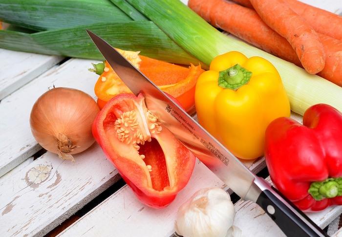 peperoni in cucina