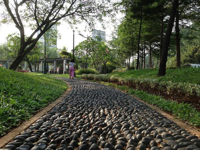 parco verde urbano