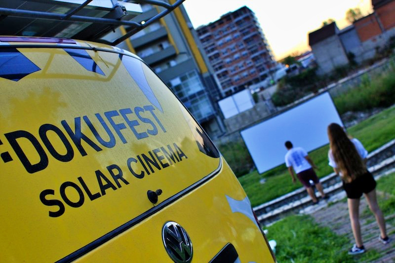 "Il Solar Cinema del Dokufest, in Kosova - Foto di Francesco Rasero per ""Movies Save the Planet - Voices from East"" - Frame Voice Report!"