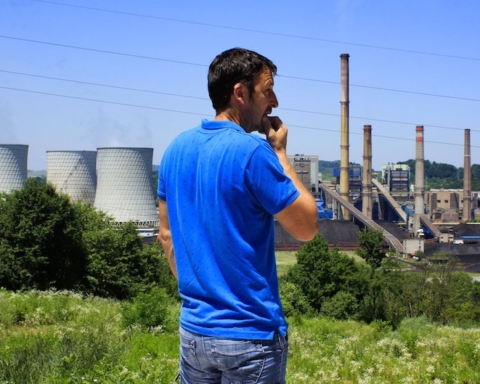 "Centrale a carbone di Tuzla, Bosnia - Foto di Francesco Rasero per ""Movies Save the Planet - Voices from East"" - Frame Voice Report!"