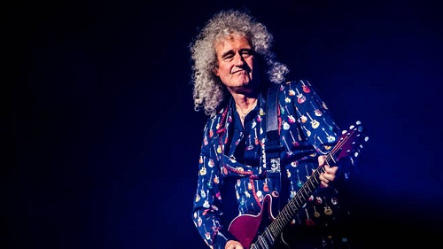 -Live Aid-Brian May-