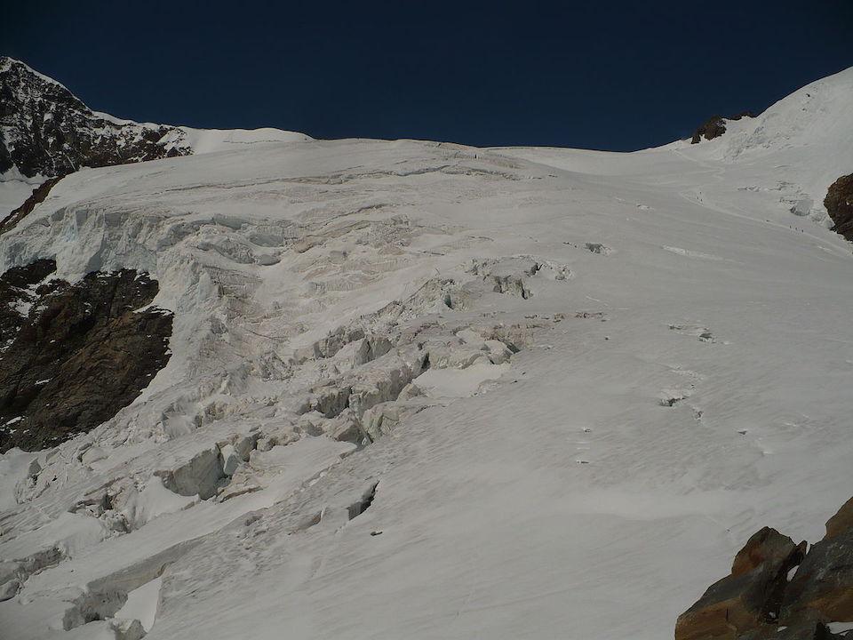 Requiem per un ghiacciaio Italia