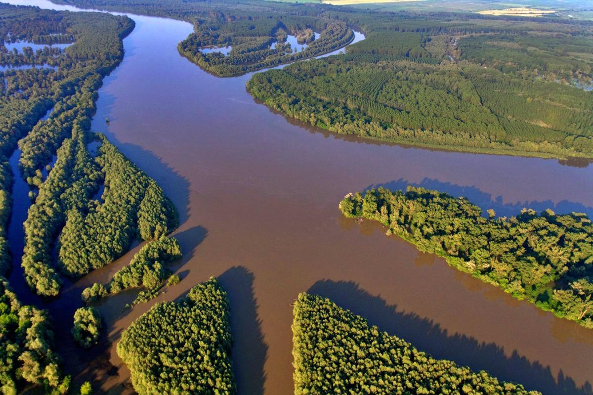 Amazzonia d'Europa Danubio foto di Goran Safarek