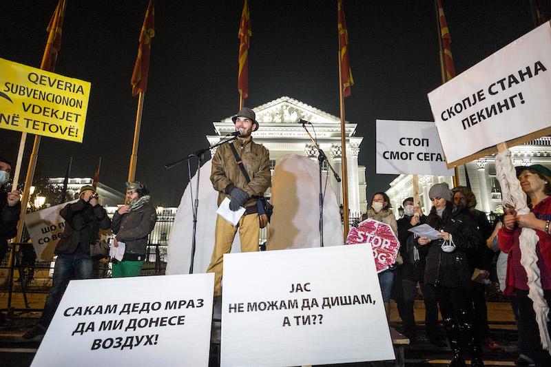 Moj Vozduh Gorjan proteste