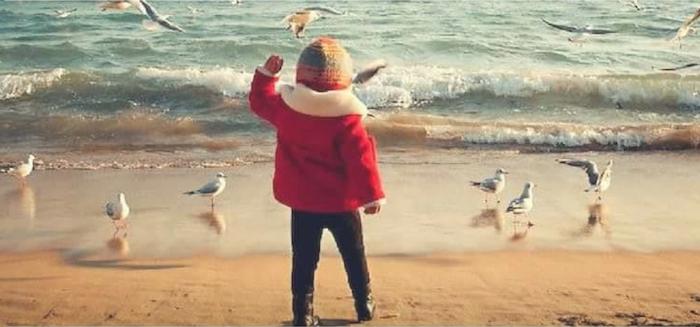 scuole naturali bambino al mare