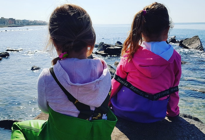 bambini scuola del mare