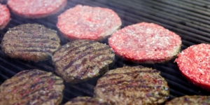 burger vegan di carne sintetica