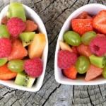 ciotole di macedonia frutti più zuccherini