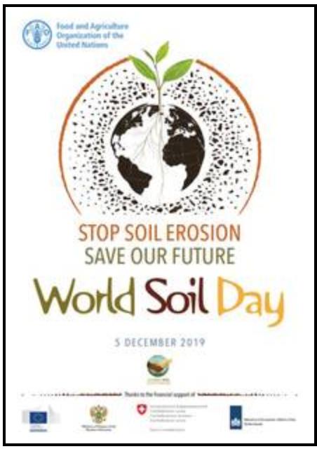 locandina giornata mondiale del suolo