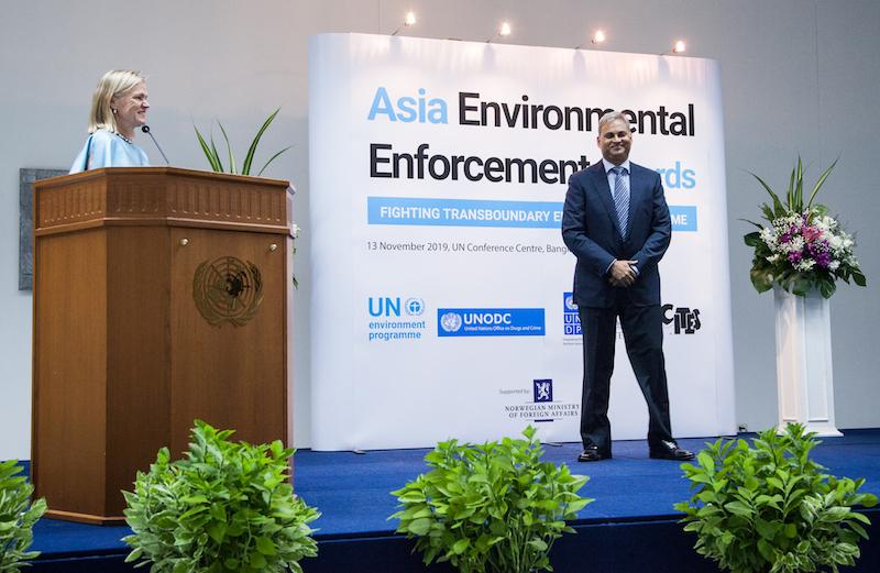 Ramesh Kumar Pandey UNEP Crimini Ambientali
