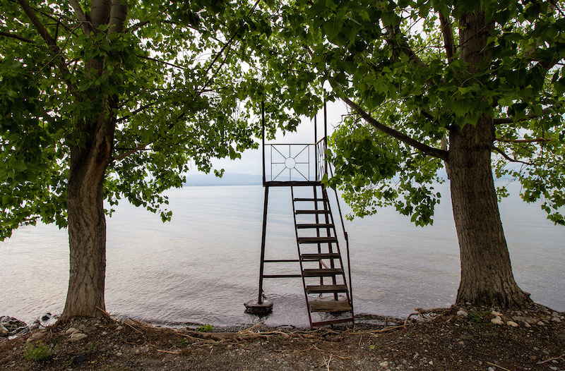 Lago di Ohrid foto di Marco Carlone