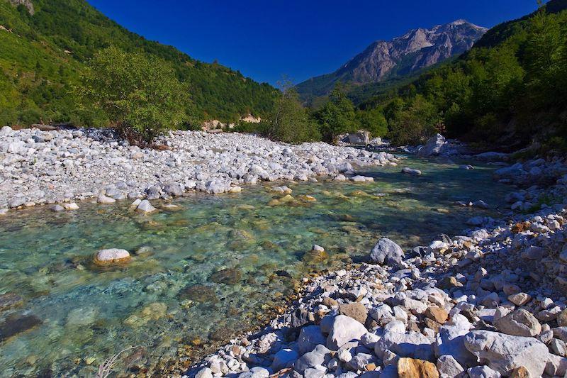 Valbona in Albania Goran Šafarek Blue Heart