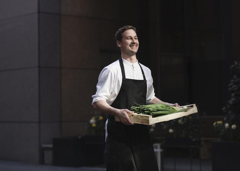 Zero Island chef Jonas Svensson