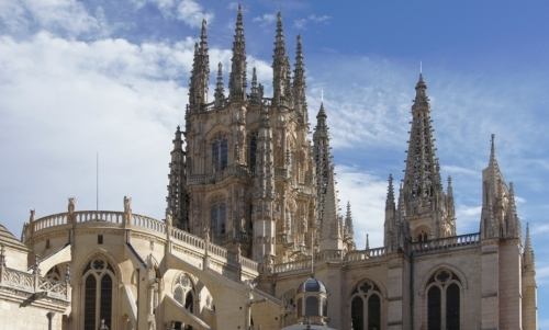 Si riparte da Burgos, località castigliana nota per la sua cattedrale gotica.