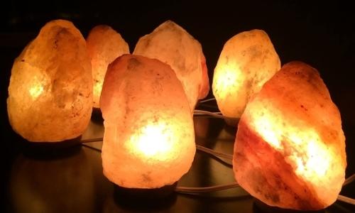 Le lampade del sale dell