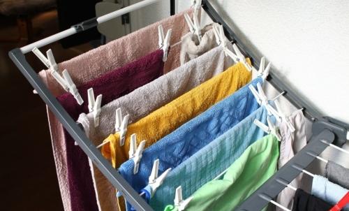 Meglio evitare di stendere il bucato in camera.