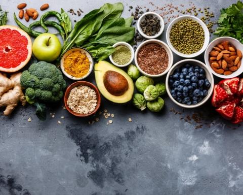 frutta e verdura vegetariano