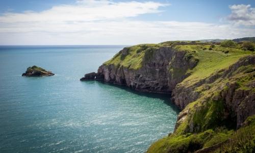 La costa inglese offre possibilità di trovare relax e tranquillità.