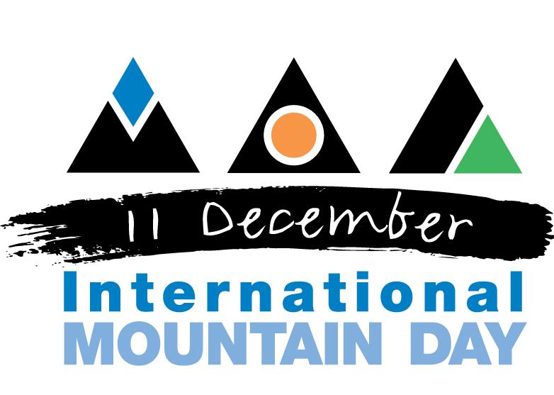 Il logo della Giornata internazionale della Montagna dell'11 dicembre