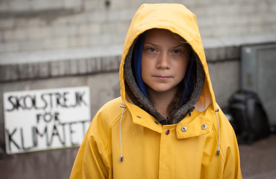 Greta Thunberg, Persona dell'Anno 2019 per Time (foto di Anders Hellberg)