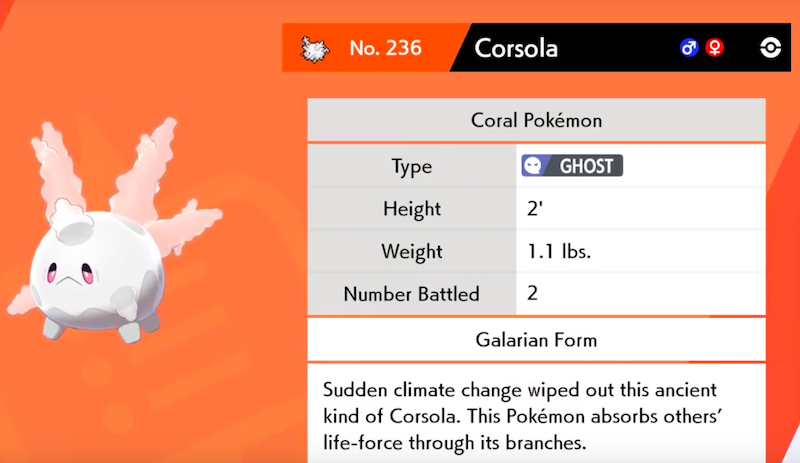 Pokémon cambiamento climatico