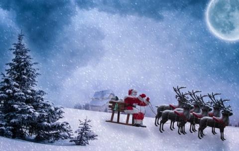 Renne Babbo Natale