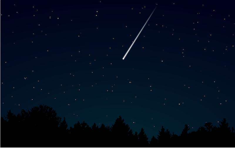 fenomeni astronomici piogge meteoriche