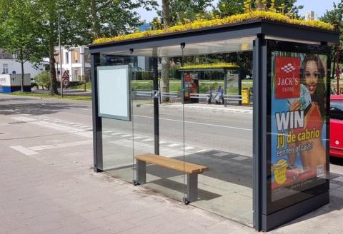 Fermate dell'autobus per le api